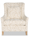 CHAIRS, Leather, Upholstered, Accent Beautiful Daisies in the Breeze Armchair