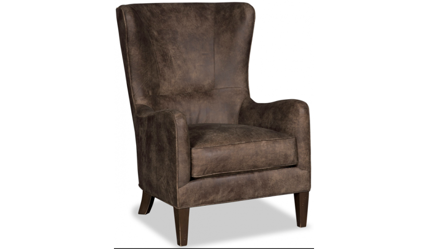CHAIRS, Leather, Upholstered, Accent Classic Bare Trees of Winter Accent Chair