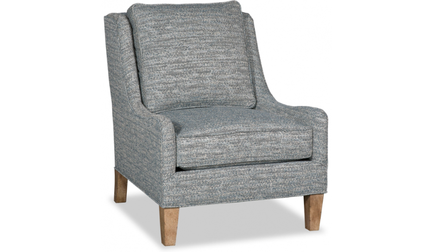 CHAIRS, Leather, Upholstered, Accent High End Storm at Sea Armchair
