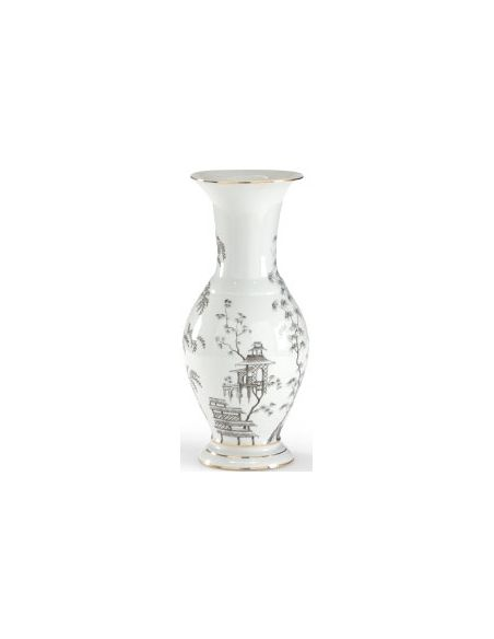 Decorative Accessories Monochrome Chinoisserie Urn