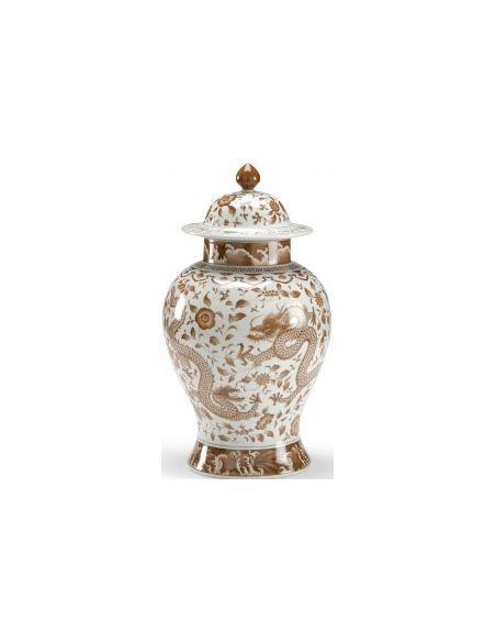 Decorative Accessories Curvy Nutmeg Covered Jar