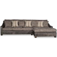 Luxurious Grey Peaks of Winter Sofa