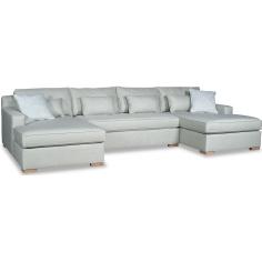 Elegant Ice Queen's Castle Sofa