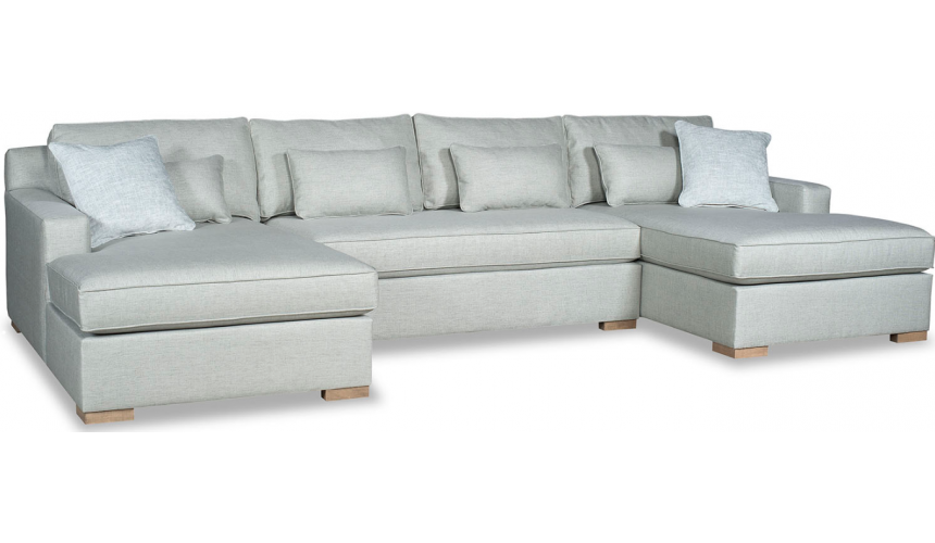 SECTIONALS - Leather & High End Upholstered Furniture Elegant Ice Queen's Castle Sofa