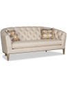 SOFA, COUCH & LOVESEAT Modern and Sleek Alabaster Sofa