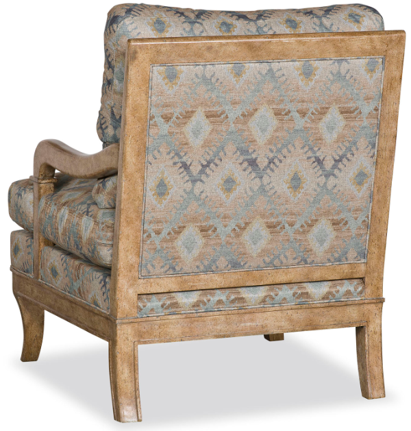 Gorgeous River's Reflection Accent Chair
