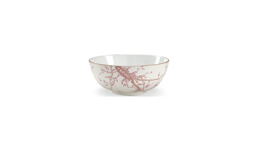Decorative Accessories Hand Decorated Blossoms Bowl