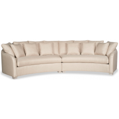 High End Sea Shell White Sofa