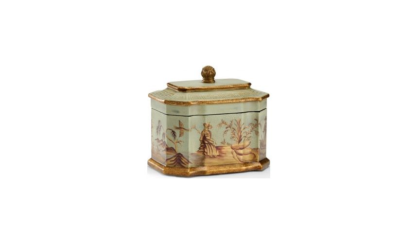 Decorative Accessories Madison Tole Box with Lid