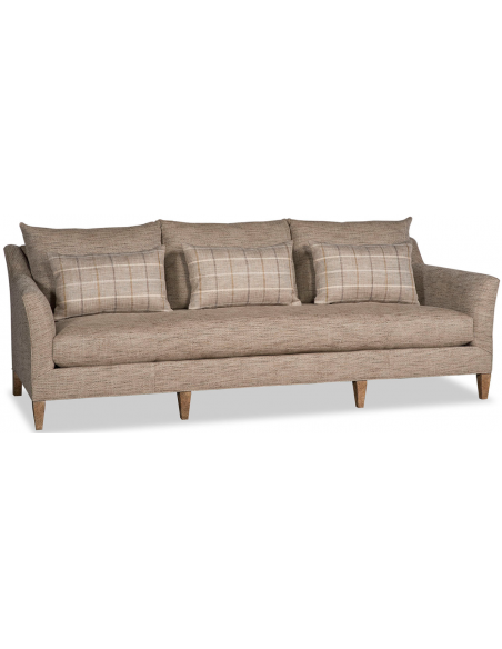 SOFA, COUCH & LOVESEAT Beautifully Chic Blended Beige Sofa