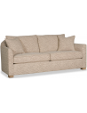 SOFA, COUCH & LOVESEAT Stunning Labyrinth of Ivory Sofa