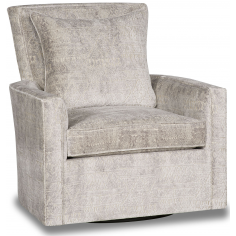 Stunning Stories in Stone Swivel Accent Chair
