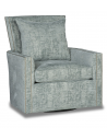 CHAIRS, Leather, Upholstered, Accent Deluxe Dreams of the Arctic Sea Swivel Armchair