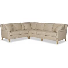 Elegant Golden Cream Sofa
