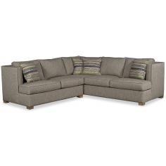 Beautiful Woven Winter Slate Sofa