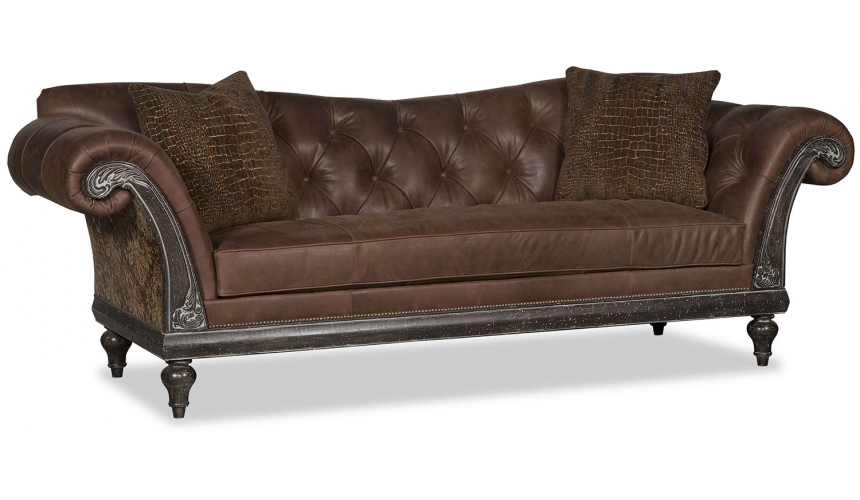 SOFA, COUCH & LOVESEAT Royal and Rich Coffee of Kings Sofa