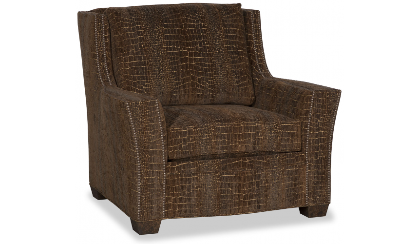 CHAIRS, Leather, Upholstered, Accent Deluxe Mystical Marsh Armchair