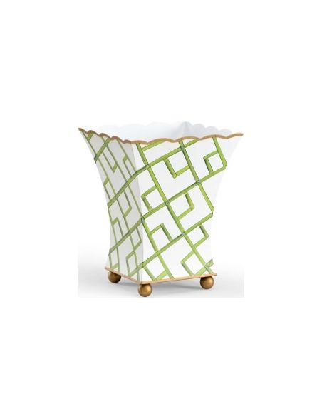 Decorative Accessories Bamboo Square Shaped Planter
