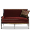 SETTEES, CHAISE, BENCHES Beautiful Simplicity in Historic Brick Love Seat