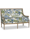 SETTEES, CHAISE, BENCHES Elegant Asian Garden Party Love Seat