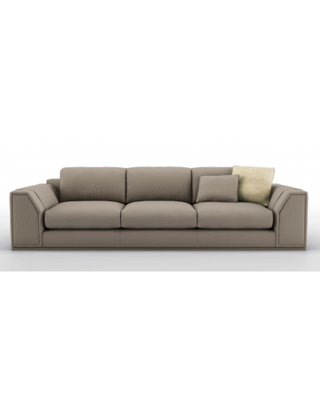 SOFA, COUCH & LOVESEAT Chic and Sleek Revere Pewter Sofa