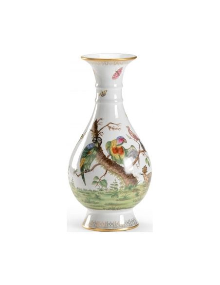 Decorative Accessories Colorful Hand Decorated Birdie Vase