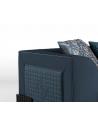 SOFA, COUCH & LOVESEAT Gorgeous Brilliant Sapphire Blue Sofa