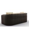 SOFA, COUCH & LOVESEAT Luxurious Golden Paradise Sofa