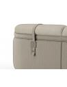SOFA, COUCH & LOVESEAT Elegant Sophistication in Ash Grey Sofa