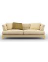 SOFA, COUCH & LOVESEAT Elegant Golden Shimmer and Shine Sofa