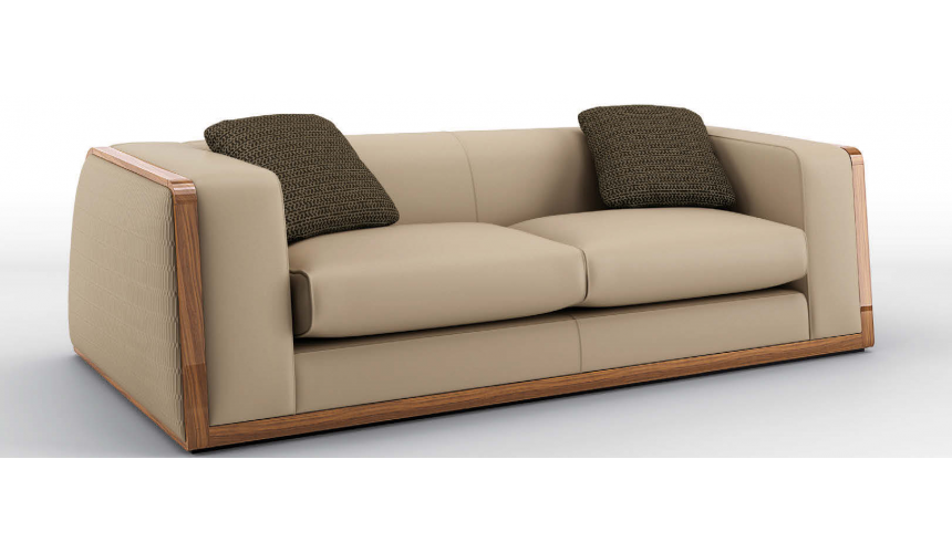 SOFA, COUCH & LOVESEAT Luxurious Grecian Olive Sofa