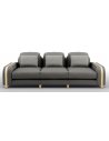 SOFA, COUCH & LOVESEAT Beautiful Smoke and Iron Sofa