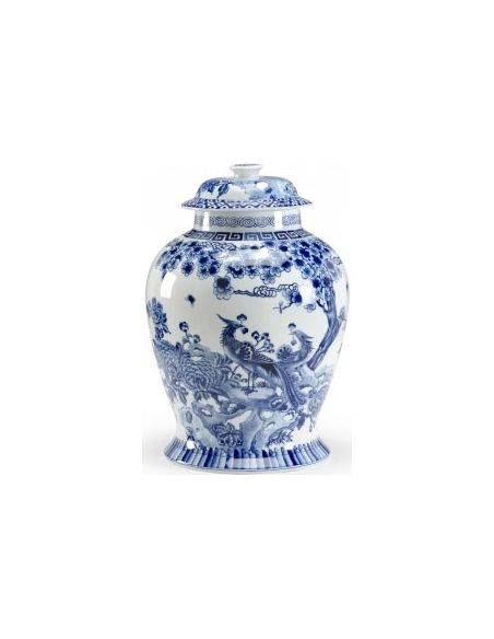 Decorative Accessories Elegant Peacock Urn