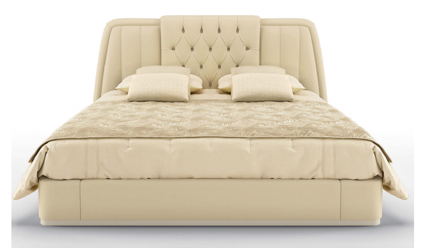 LUXURY BEDROOM FURNITURE Gorgeous Cream and Sugar King Size Bed