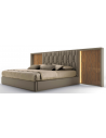 LUXURY BEDROOM FURNITURE High End Stormy Nights King Size Bed