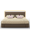 LUXURY BEDROOM FURNITURE Elegant Sugar Plum and Champagne King Size Bed
