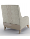 CHAIRS, Leather, Upholstered, Accent Beautiful Fresh Morning Mist Armchair