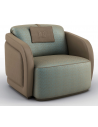 CHAIRS, Leather, Upholstered, Accent Beautiful Mystics of the Mediterranean Armchair
