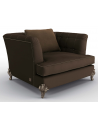 CHAIRS, Leather, Upholstered, Accent Deluxe Box of Chocolates Armchair