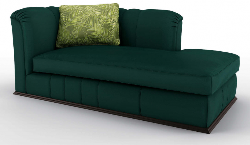 SETTEES, CHAISE, BENCHES Gorgeous Gem of the Jungle Dormeuse