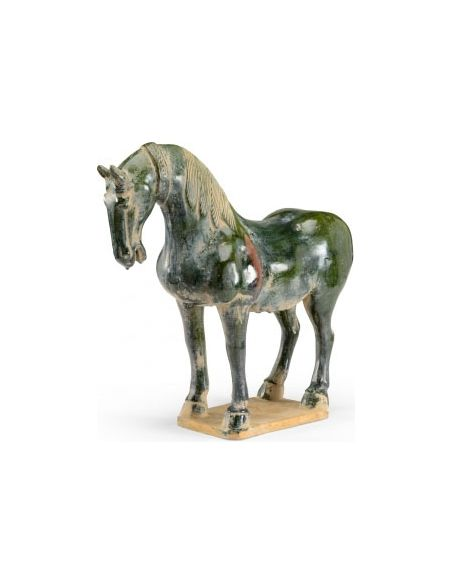 Decorative Accessories Mighty Ceramic Horse