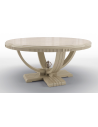 Dining Tables Beautiful Candle White Round Dining Table