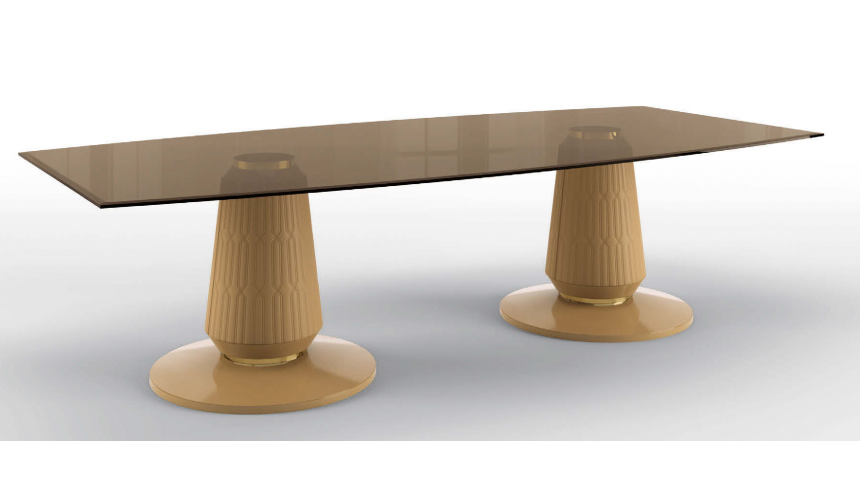 Dining Tables Beautiful Clarity in the Desert Rectangular Dining Table
