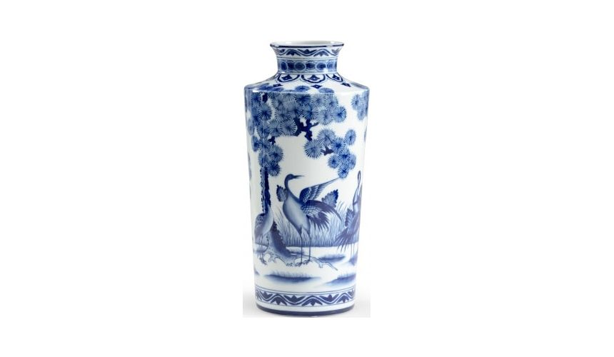Decorative Accessories Charming Crane Urn