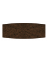 Dining Tables Sleek Forrest Soldier Rectangular Dining Table Brown