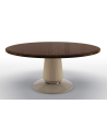 Dining Tables Elegant Melting Snow Round Dining Table