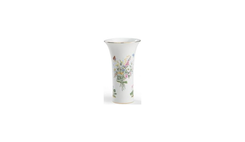 Decorative Accessories White Floral Vase