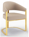 Dining Chairs Luxurious Golden Clouds Dining Chair