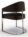 Dining Chairs Deluxe Kick of Espresso Dining Chair