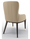 Dining Chairs High End Abalone Gray Dining Armchair
